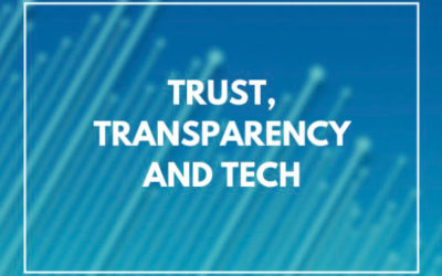Trust, Transparency and Tech (Policy Connect)