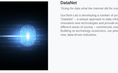 GovTech Lab Seminar: DataNet and the Future of National Data Infrastructures @UCL (26th Nov. 9.30-Noon)