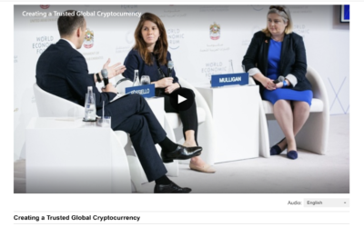 GovTech Lab's CTO Speaking at the World Economic Forum: Creating a Trusted Global Cryptocurrency (3—4 November 2019 Dubai)